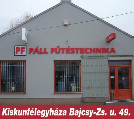 Páll Fűtéstechnika Kiskunfélegyháza